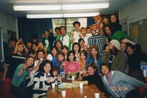 2001年の学生がサプライズで泣かしてくれた誕生日