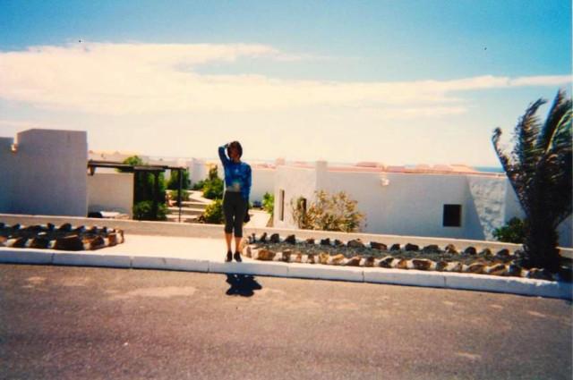 カナリア諸島にて(1998年)